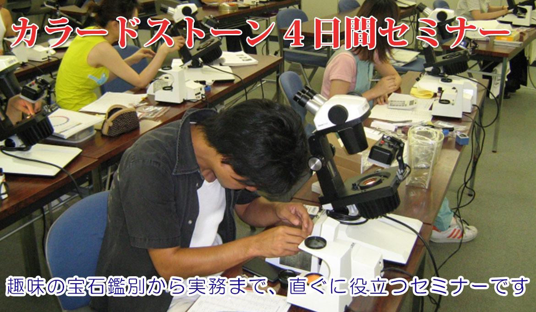 カラードストーン総合セミナー(4日間)